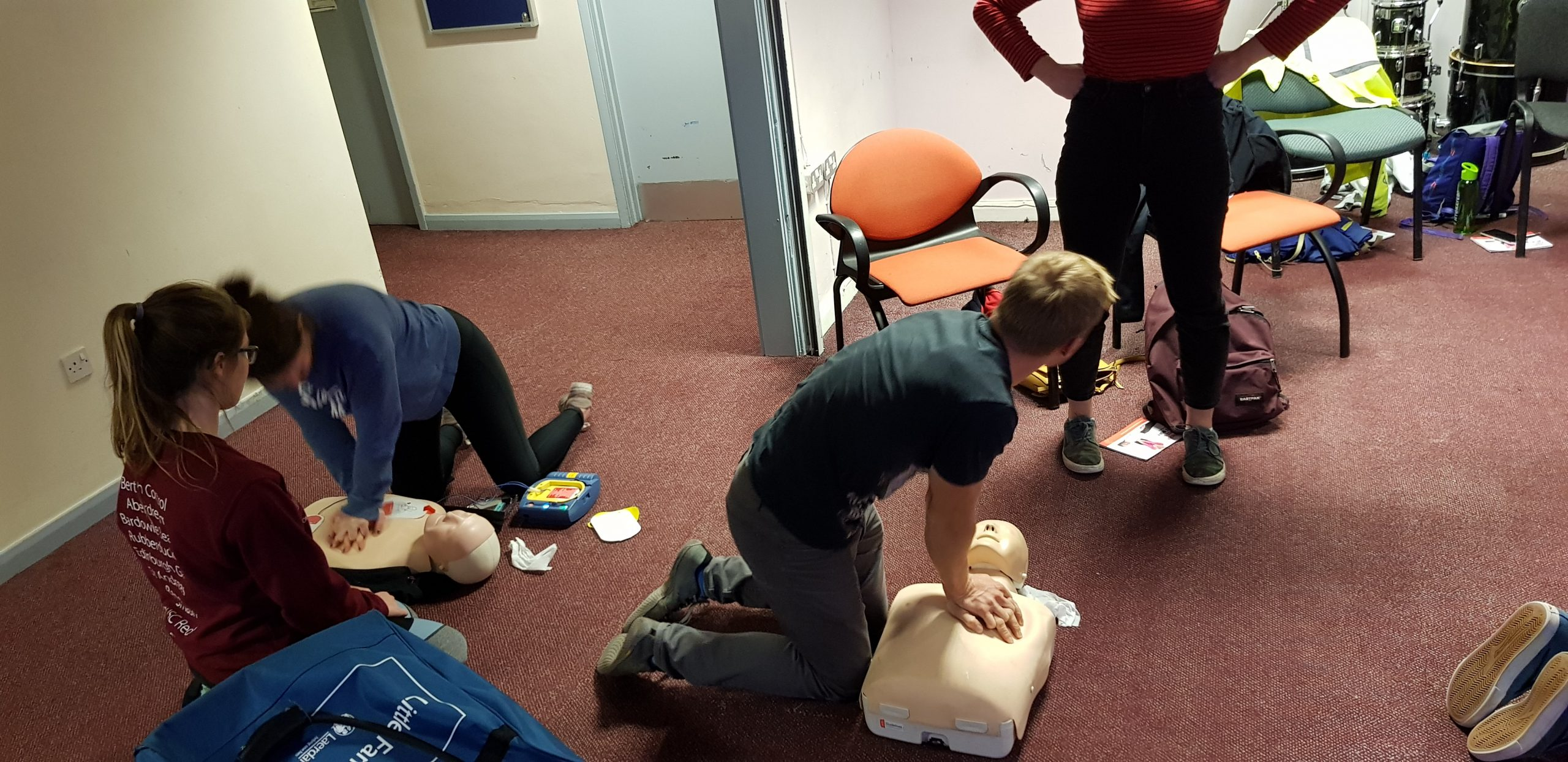 CPR Delivery for University of Strathclyde Students Union